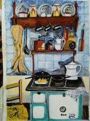 Cocina d, epoca.
