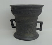 400 Years old Dutch bronze pewter. Artpore