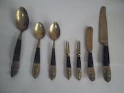 Antique Siam decorated Spoons. Artpore