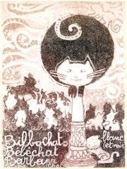 Page2 du livre : Nom d'un Chat«Bilbochat».