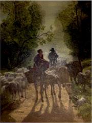 Traslado del ganado.