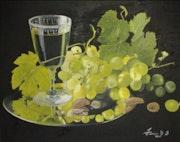 Las uvas.