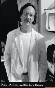 L'écrivain Allemand Peter handke à Cannes.