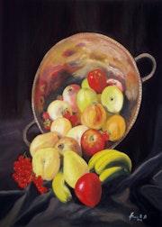 La fruta.