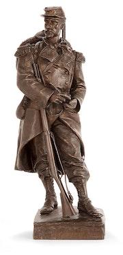 Jules Gelle Sculpture XIXème. Anger Antiquités