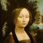 La Dame à l'hermine. Leonardo Da Vinci