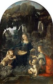 La Vierge aux rochers.