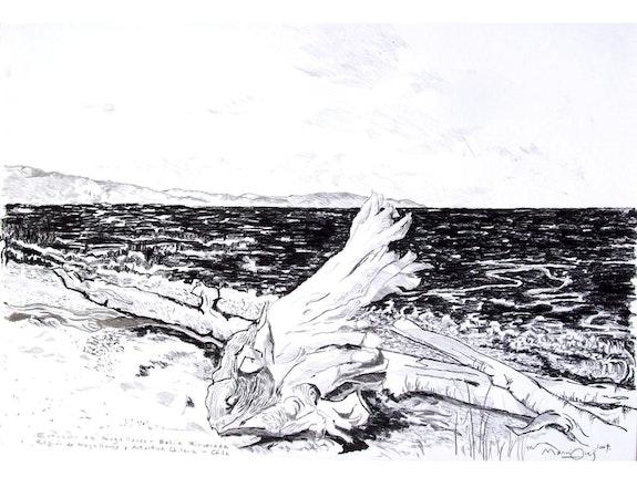 Bahía Rinconada, Estrecho de Magallanes - chile. Manri Manri