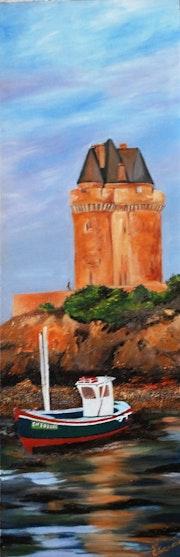 La Tour Solidor à St Malo..