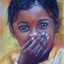 Jeune Indienne. Christine Poirier
