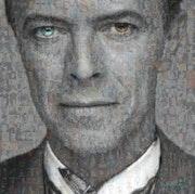 David Bowie black&white.