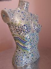 Buste bleu. Atelier Artgane