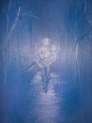 Blue mist of memory.