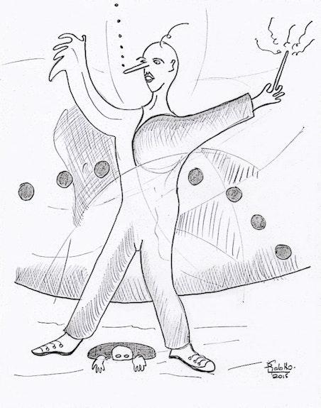 Le magicien. Pascal Gabotto Pascal Gabotto