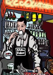 Le serveur du restaurant Le Buxerolles à Limoges.
