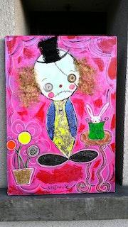 Le clown. Radmila Sally Stojkovic Burton