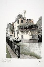 Venise. Rio San Provolo. Lojepi