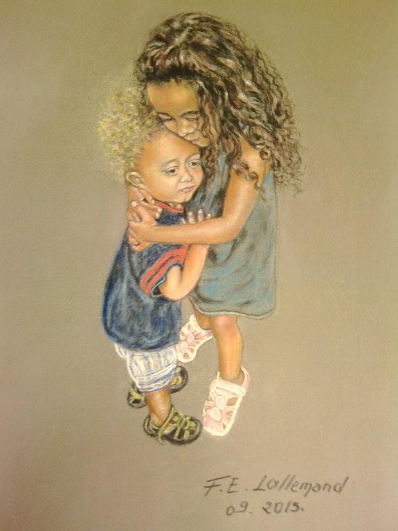 Amour et sens du devoir de protection chez les touts petits.. Françoise-Elisabeth Lallemand Françoise-Elisabeth Lallemand