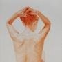 Esc_0079 Chignon 40x80 Sanguine. Eliane Marque
