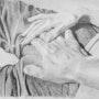 Dsc_7162 La main du masseur 30x40 0.45. François Effel