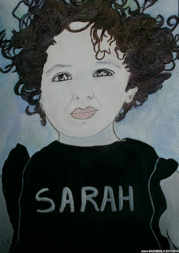 La belle sarah en deux versions. Anne Bazabidila Anne. B