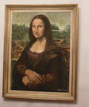 La Joconde (Mona Lisa) de Léonard de Vinci du XVe s. Andrée Alice Lambert