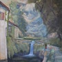 The Old Grist Mill, Printemps. Art Tradition Gallery