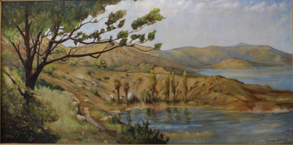 Peaceful Cove. Darrel Mcpherson Art Tradition Gallery