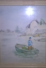 Pêcheur. Nelly Rustand