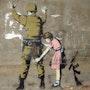 Graffiti à Bethlehem. Banksy