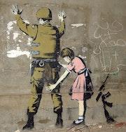 Graffiti à Bethlehem.