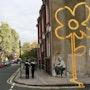 Street Flower. Banksy