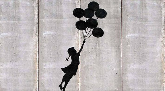Freedom.  Banksy