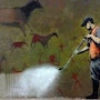 Clean up. Banksy