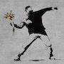 Demonstrator. Banksy