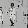 Mickey and Mc Donald. Banksy