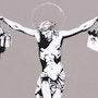 Consumer Jesus. Banksy