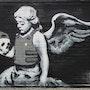 Dead angel. Banksy