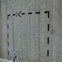 Cut Here - Palestine Wall. Banksy