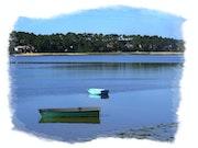 Le lac d'Hossegor.