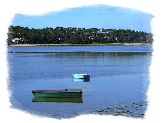 Le lac d'Hossegor. Anne-Lucie Tarrie Altarrié