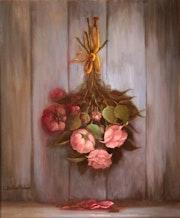 Hommage au bouquet de roses. Catherine Bantwell Huiban