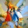 Happy girls. Alshaikh Idris Aldaw