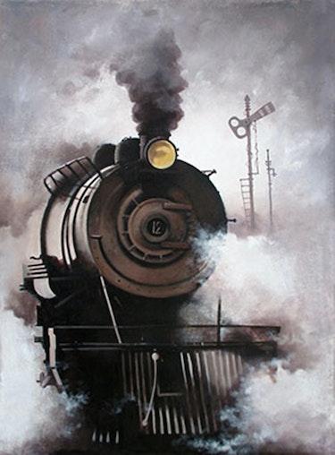 Nostalgia Of Indian STeam Locomotives. Kishore