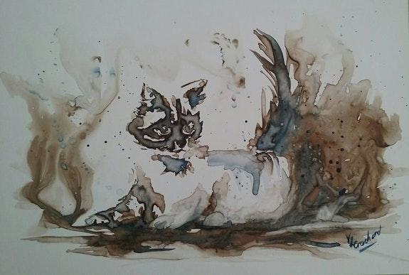 Le chat. Valérie Crochard Valérie Crochard