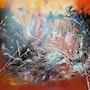 Abstrait «a ». Patricia Vivier Robert » Pat V »
