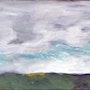 Ciel mixte sur toile 40x20cm. Chez Moi, Chez Toi