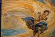 Apollon jouant de la lyre. Jean-Loïc Giranton