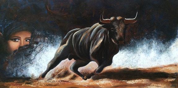 La belle et le taureau. Régine G. Régine Guthmann