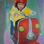 Jeux d'enfants : le manége. Cesar Luciano